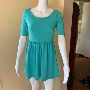 5 for $25 - Aqua Skater Dress